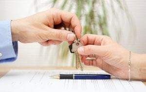 Signing a Lease to Rent an Apartment